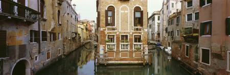 Buildings along a canal Grand Canal Venice Veneto