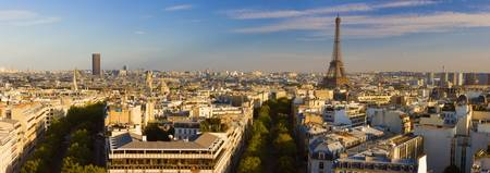 Cityscape with Eiffel Tower in background Paris I