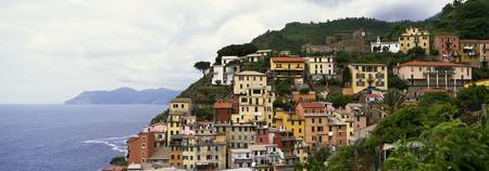 Cliffside buildings of Cinque Terre region
