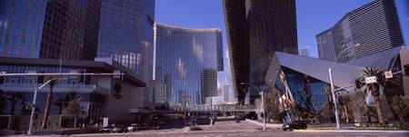 Skyscrapers in a city Citycenter The Strip Las Ve