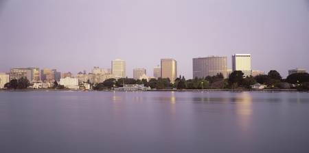 Skyline and Lake Merritt Oakland CA