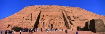 Temple of Ramses II Abu Simbel Egypt