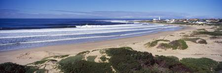 Surf in the sea Cape St. Francis Eastern Cape Sou