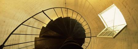 Spiral staircase of a lighthouse