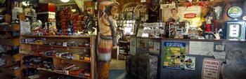 Interiors of a store Route 66 Hackenberry Arizona