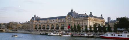 Musee D‰ÛªOrsay Seine River Paris France