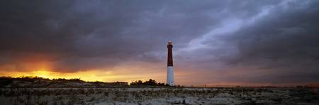 Sunset Barnegat Lighthouse State Park NJ