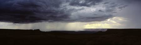 Summer thunderstorm Canyonlands National Park UT