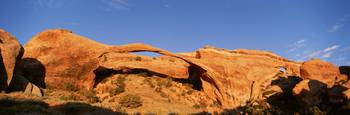 Landscape and Partition Arch Arches National Park