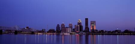 Evening Skyline Louisville KY