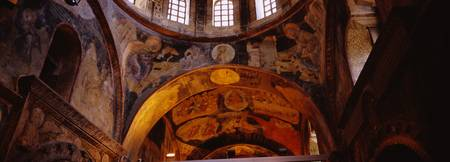 Frescos in a church