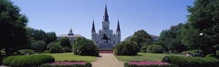 St Louis Cathedral Jackson Square New Orleans LA