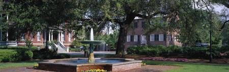 Columbia Square Historic District Savannah GA