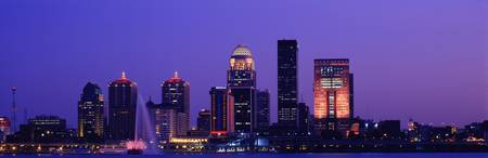 Night Skyline Louisville KY