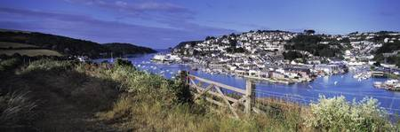 Town on an island Salcombe South Devon Devon Engl