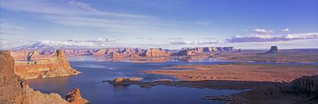 View fr Utah Lake Powell AZ