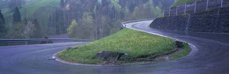 Curving Road Switzerland
