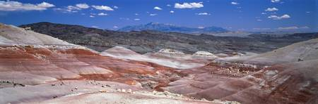 Painted desert in Capitol Reef National Park Utah