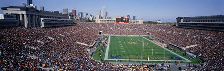 Football Soldier Field Chicago IL