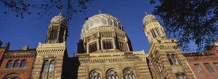 Low angle view of Jewish Synagogue