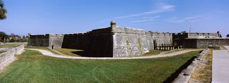 Outer wall of a fort