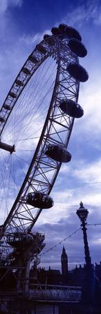 Low angle view of the London Eye