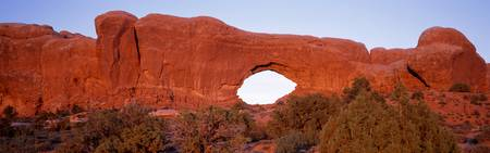 Tuppet Arch Arches National Park Moab UT