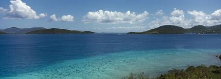 British Virgin Islands viewed from St. John