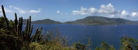British Virgin Islands viewed from East End