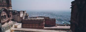 Terrace of a fort