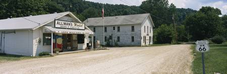 Store and US Post Office on a roadside