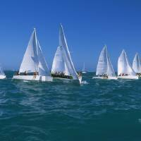 """Sailboat Race Key West FL"" by Panoramic_Images"
