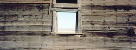 Close-up of a window in a house
