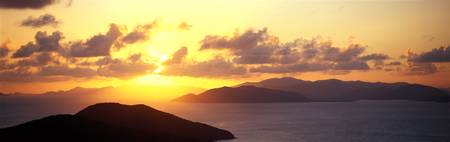 Sunset Virgin Gorda British Virgin Islands