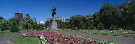 Public Gardens w/George Washington Statue Boston