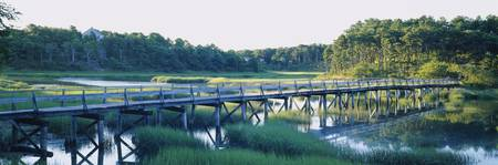 Marsh Footbridge Cape Cod MA