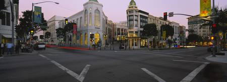 Buildings in a city Rodeo Drive Beverly Hills Cal