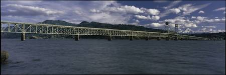 Hood River Toll Bridge Columbia River