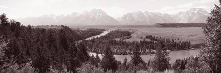 Snake River Valley Grand Teton National Park WY