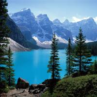"""Moraine Lake Banff National Park Alberta Canada"" by Panoramic_Images"