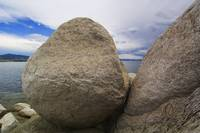 Granite boulders on Canyon Ferry Lakeshore