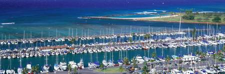 Ala Wai Yacht Harbor Honolulu Hawaii