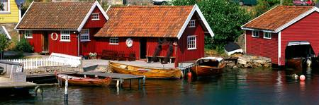 Boat Houses Norway