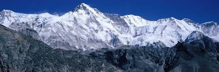 Cho Oyu from Goyko Valley Khumbu Region Nepal
