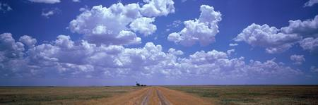 Clouds Over Prairie Amarillo TX
