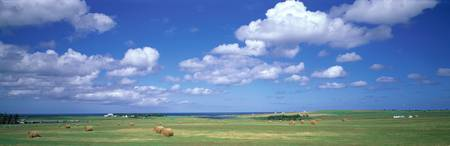 Clouds over Farms Prince Edward Island Canada