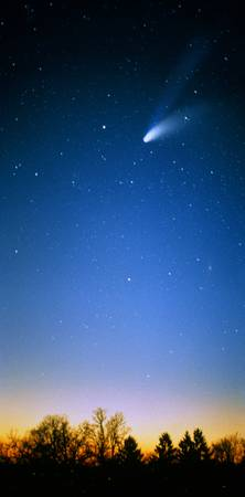Comet (Photo Illustration)