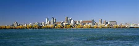 View of Montreal Skyline and the Saint Lawrence R