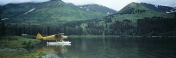Float Plane Kenai Peninsula Alaska