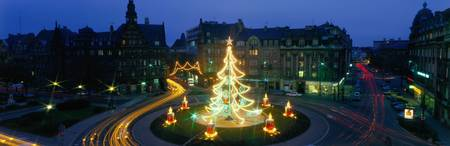 Christmas Lights Metz France